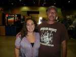 2010 Gold Show Gainsville,Ga.Alyson Massie and me. Bo1377